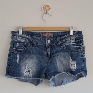 Wallflower Women's Jean Shorts